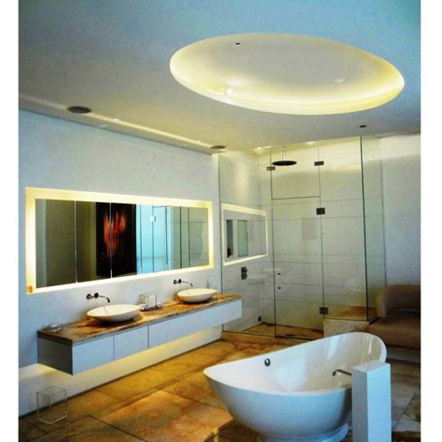 Bathroom Yellow Lighting Ideas