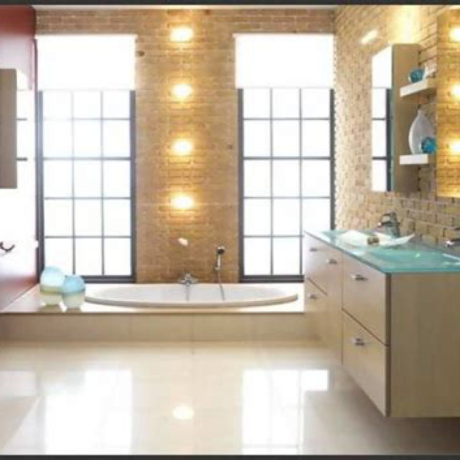 Bathroom Yellow Track Lights Ideas