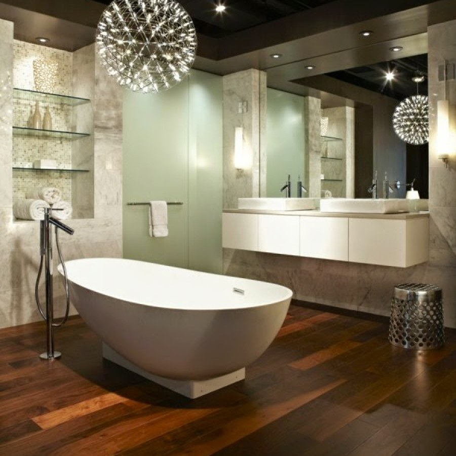 Bathroom Hanging Lighting Ideas