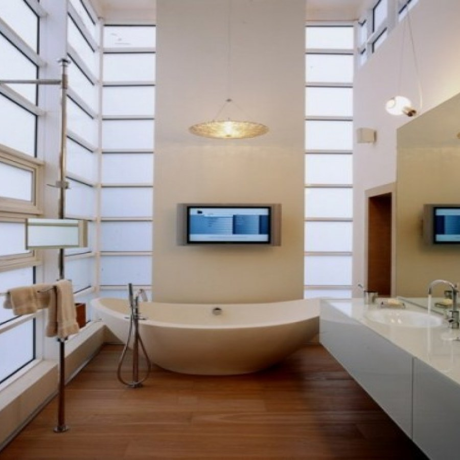 Bathroom White Lighting Ideas