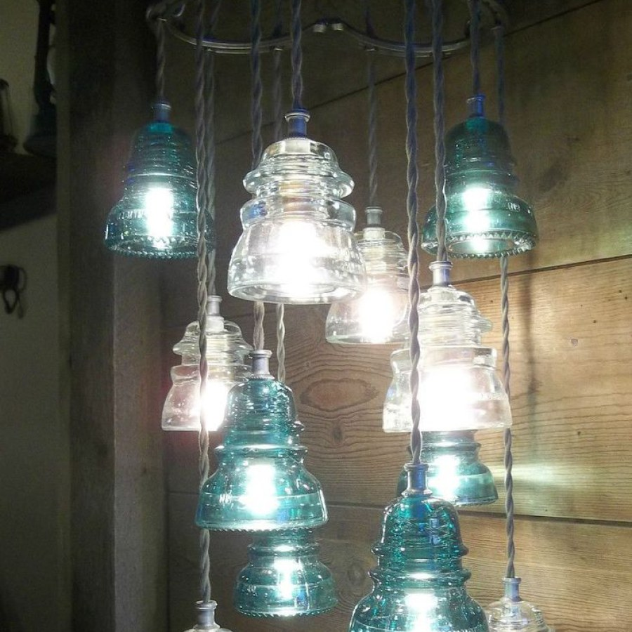 Industrial Colorful Lighting Ideas