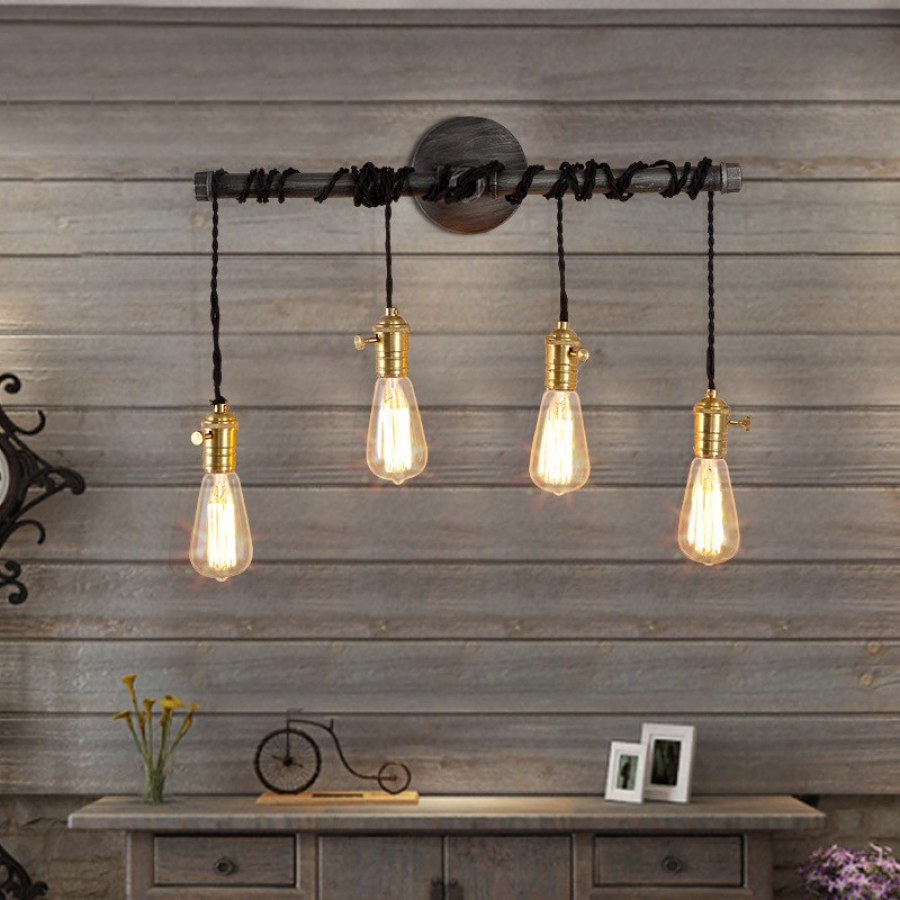 Industrial Hanging Pendant Lighting Ideas