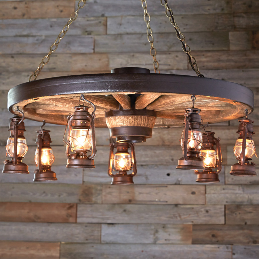 Rustic Hanging Lamp Lighting Ideas