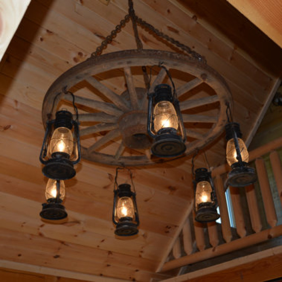 Rustic Lamp Lighting Ideas